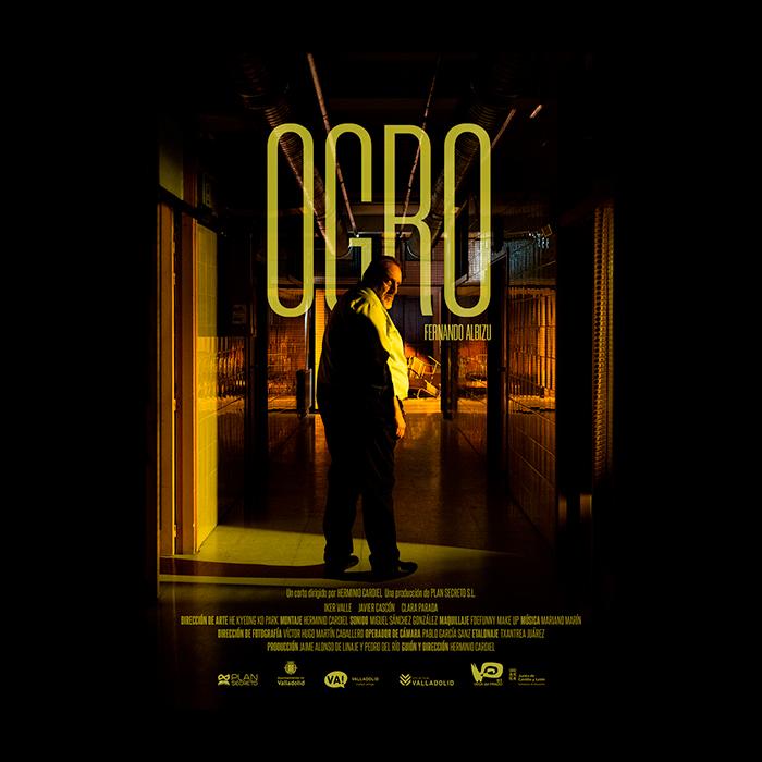 Cartel cortometraje Ogro