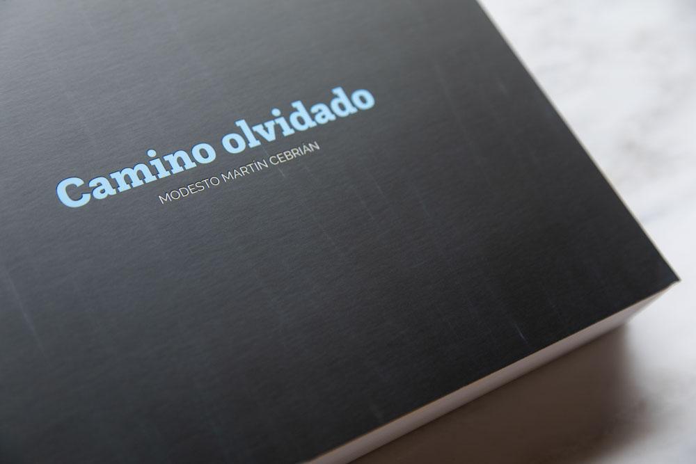 Detalle portada libro Camino Olvidado
