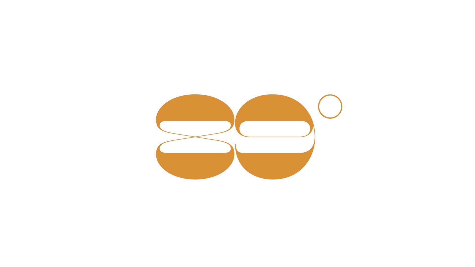 Logo de 89 grados